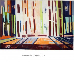 kings highway,140x210cm, 2014
